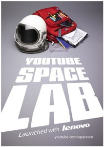You Tube Space Lab Poster