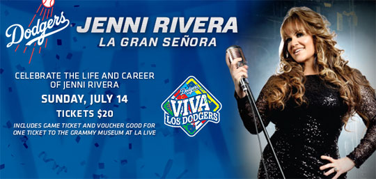 The GRAMMY Museum, in cooperation with the family of Jenni Rivera, introduced a new exhibition, Jenni Rivera, La Gran Señora, on May 12.