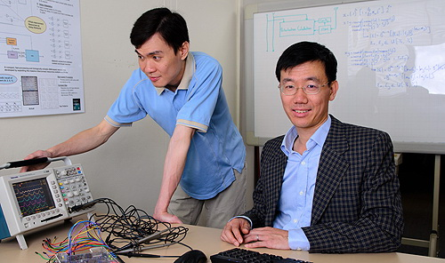 """Associate Professor Philip Leong (right): """"We envisage a world class interdisciplinary financial services exports lab that will engage 50 researchers and students focussed on financial services industry innovation and export."""""""