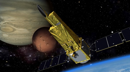 Spectroscopic Planet Observatory for Recognition of Interaction of Atmosphere (SPRINT-A) is the world's first space telescope for remote observation of the planets such as Venus, Mars, and Jupiter from the orbit around the earth.