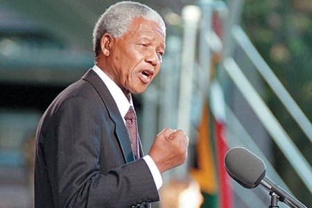 . In September 1998, Nelson Mandela delivered a speech during a special ceremony at Harvard, where he was awarded an honorary degree.