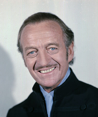 David Niven taken by Allan Warren