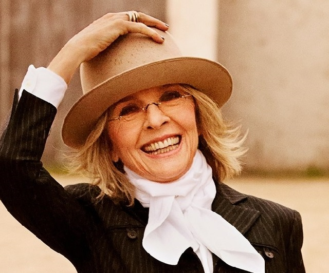 Diane Keaton-Φωτογραφία:By es:Ruven Afanador - Email to OTRS, CC BY-SA 3.0, https://commons.wikimedia.org/w/index.php?curid=39770439