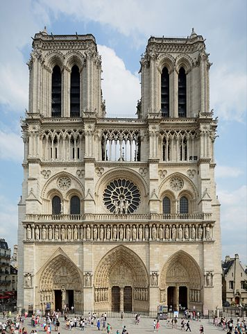 Notre Dame By Peter Haas, CC BY-SA 3.0, https://commons.wikimedia.org/w/index.php?curid=32131500