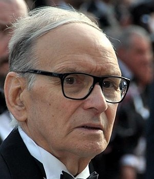 Ennio Morricone- Φωτογραφία: By Georges Biard, CC BY-SA 3.0, https://commons.wikimedia.org/w/index.php?curid=21288724