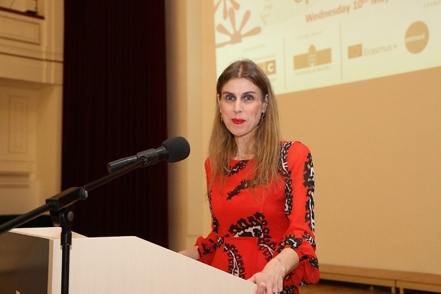 Emma Zeniou, Officer in Charge of University of Cyprus Mobility Office
