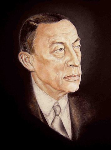 Sergei Rachmaninoff- Φωτογραφία:By Donald Sheridan - Donald Sheridan, CC BY-SA 4.0, https://commons.wikimedia.org/w/index.php?curid=41511152