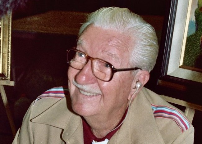 Carl Barks-By photo by Alan Light, CC BY 2.0, https://commons.wikimedia.org/w/index.php?curid=7656390